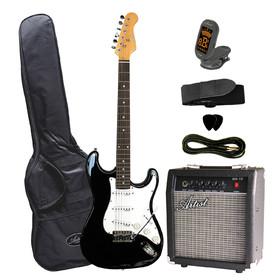 artist-stpkbk-electric-guitar-plus-amp-accessories-black