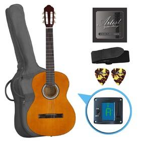 artist-cl44aml-left-hand-classical-nylon-string-guitar-pack-full-size