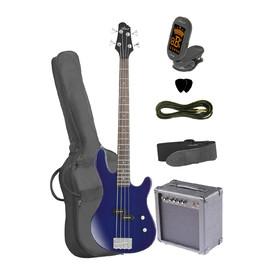 artist-pb1pktbb-electric-bass-guitar-plus-amp-accessories-blue