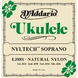 daddario-ej88s-nyltech-soprano-ukulele-strings