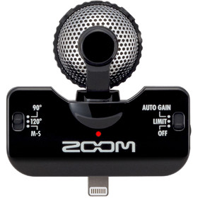 zoom-iq5-recorder-for-iphone-stereo-xy-audio-black-colour