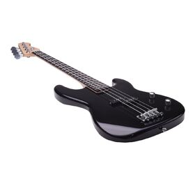 Artist PB2 Black Electric Bass Guitar Plus Accessories with BA30 Amp