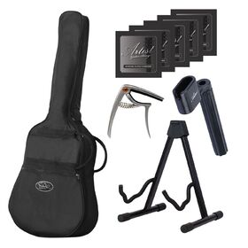 Artist LSP34 3/4 Size Beginner Acoustic Guitar Ultimate Pack - Natural