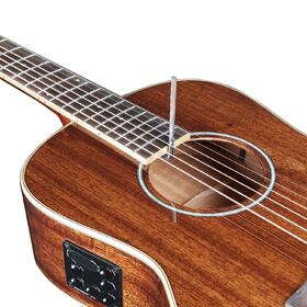Artist PMH100EQ Solid Wood Parlour Acoustic-Electric with Hardcase