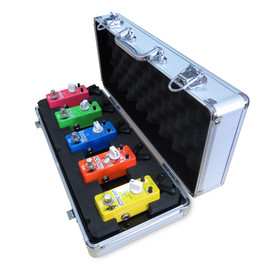 Xvive F1 Silver Flight Pedal Case