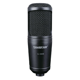 Takstar GL100USB Condenser Microphone for PC + Mac with Tripod