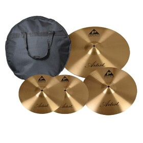 Artist PREPK Preface Cymbal Pack - 14 Hats 16 Crash & 20 Ride + Bag