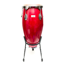 Artist CG11 Red Conga Drum - 11 Inch + stand