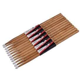 Artist DSO7AN Oak Drumsticks with Nylon Tips 6 Pack