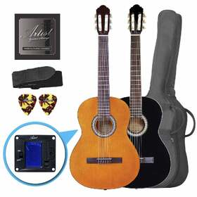 Artist CL44 Full Size Classical Nylon String Guitar Pack 39 Inch