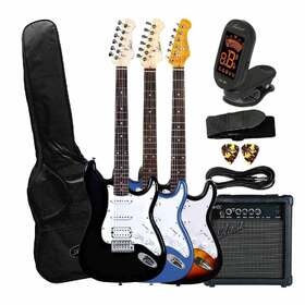 Artist STHPK Electric Guitar Plus Amp & Accessories