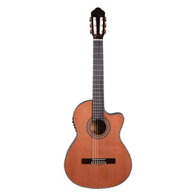 Artist HG39303CEQ Classical Guitar Solid Cedar Top + Cutaway and EQ