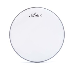Artist SP1014 14 Inch Drum Skin / Head Single Ply - White Coated