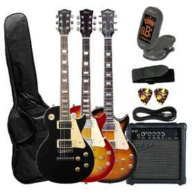 Artist LP60 Electric Guitar with Accessories with 10 Watt Amp