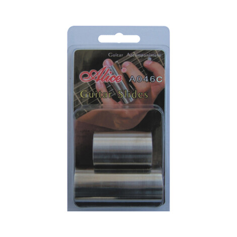 Alice A046C Stainless Steel Guitar Slides