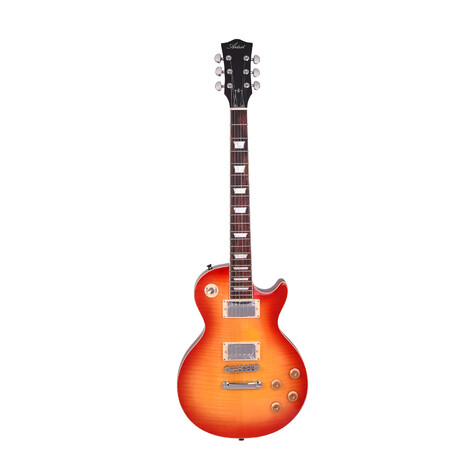 Artist LP59CSB Deluxe LP Electric Guitar Cherry Burst with Bullbuckers